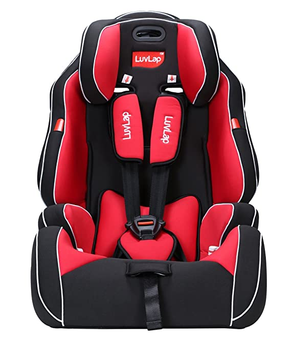 Luvlap Premier Baby Car Seat (Red)