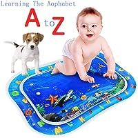 Autbye Baby Bauch Zeit Abspielen Wassermatte Größte Größe Vorschule Lernspielzeug Frühen Jahre Füllen Sie n Spaß Wasserspielmatte Kleinkinder Geschenke für 1 2 3 Jahre Alter