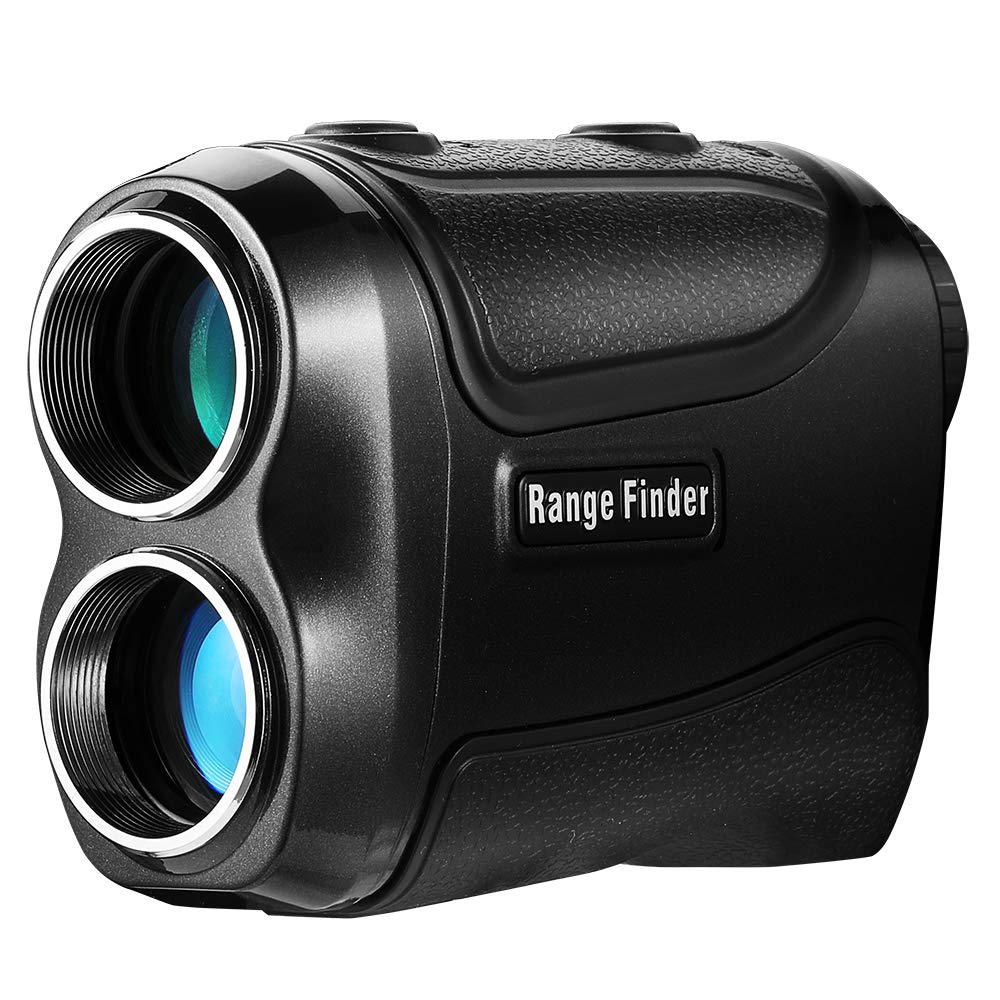 PetitWINGBACK Range Finder for Golf or Hunting with Pinsensor - Laser Binoculars-6xmagnification - Free Battery - Balck by Petitwing