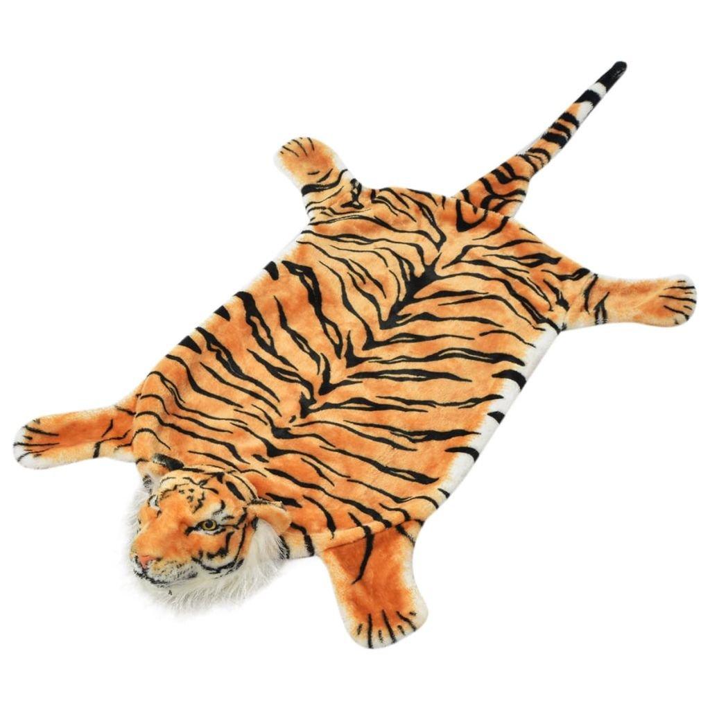 vidaXL Tappeto di Peluche a Forma di Leopardo Animali per Cameretta 139 cm SAFERS-HÜLLE-2173