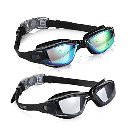 59024adad04 Amazon.com   Aegend Swim Goggles