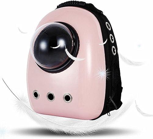 LEMONDA Portable Pet Travel Carrier,Space Capsule Pet Cat Bubble Backpack,Waterproof Traveler Knapsack for Cat and Small Dog Mutil Colors to Choose
