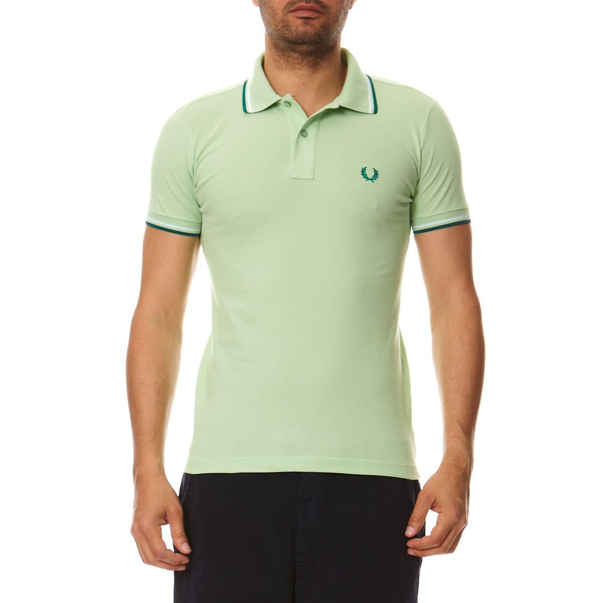 Fred Perry Fred Perry Mens Polo 30162009 2334 VERDE: Amazon.es ...