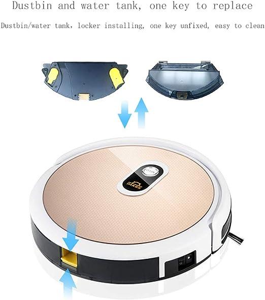 XUEME Robot Aspirador, Control Remoto Limpieza Alta Potencia ...