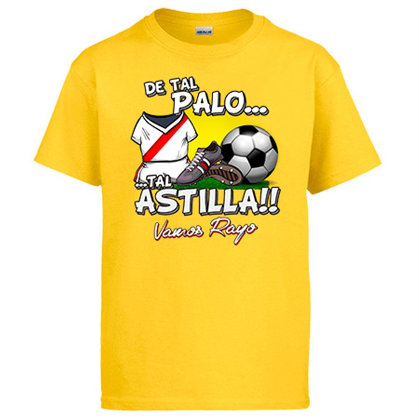 Diver Camisetas Camiseta De Tal Palo Tal Astilla Rayo Vallecano ...