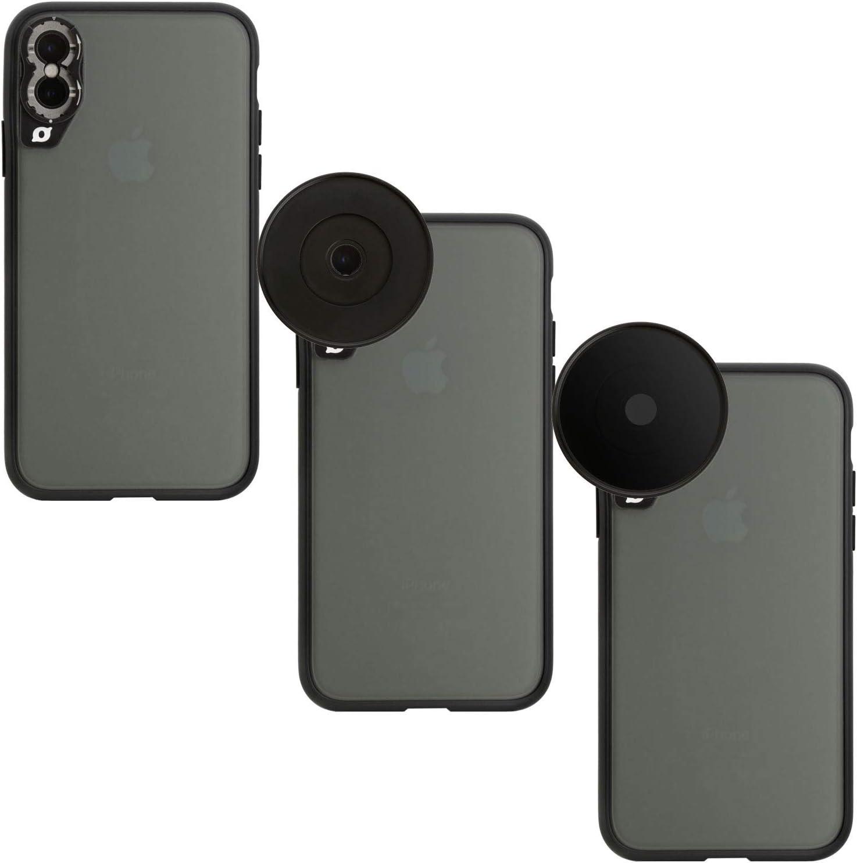 Wolffilms Phone Filter Mount 77mm kompatibel mit den Lens Cases von Wolffilms zur direkten Verwendung von ND und CPL-Filtern
