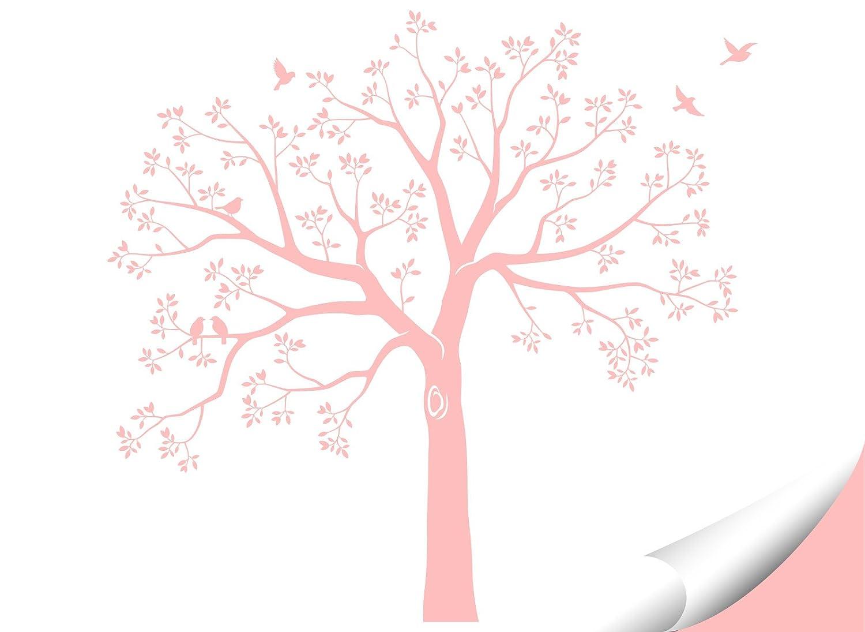 Grandora W5483 Wandtattoo XXL Baum I I I weiß (BxH) 165 x 160 cm I Flur Wohnzimmer Aufkleber Wandaufkleber selbstklebend Wandsticker B0753CSWPV Wandtattoos & Wandbilder ecf99d