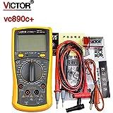 VICTOR VC890C + Digital Multimeter True RMS Multimeter 2000UF Capacitor Temperature Measurement