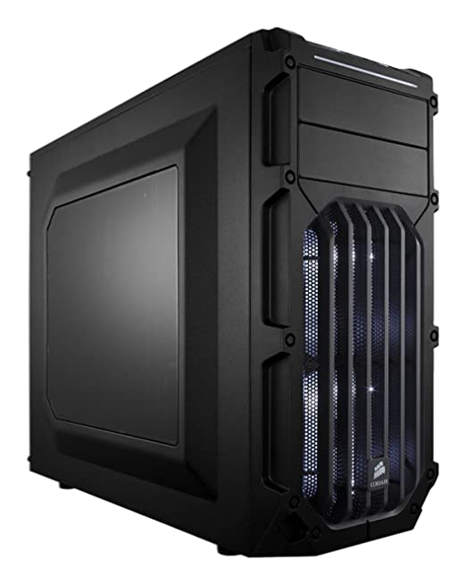 559 opinioni per Corsair CC-9011053-WW Case da Gaming, Mid Tower Spec-03, Nero/Bianco