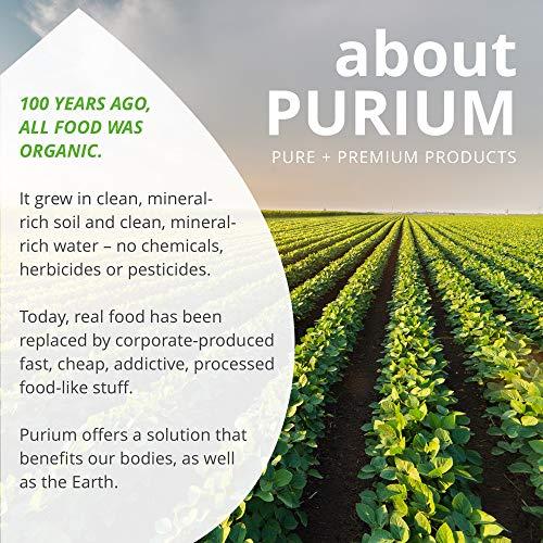 Purium Power Shake - Apple Berry Flavor - 1065 grams - Vegan Meal Replacement Powder, Protein, Vitamins & Minerals - Certified USDA Organic, Gluten Free, Kosher - 30 Servings by Purium (Image #7)