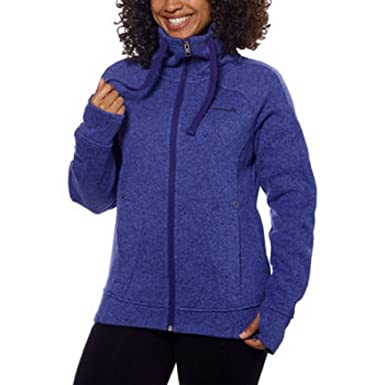 Amazon.com: Avalanche Ladies' Full Zip Moisture Wicking Sweater ...