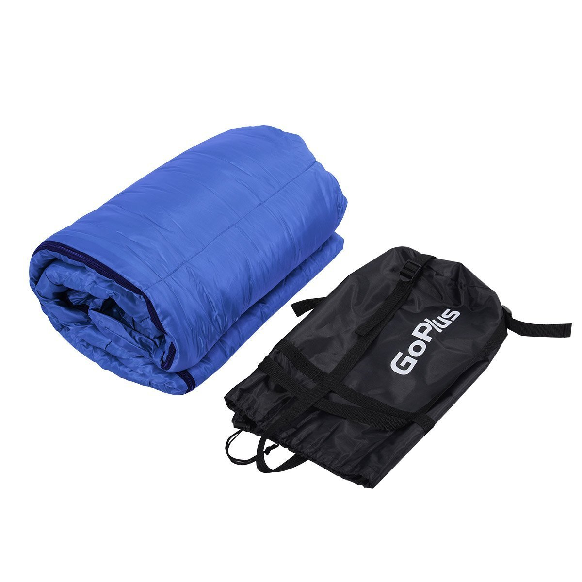 Goplus New Mummy Waterproof Outdoor Sleeping Bag Camping Travel Hiking W Carrying Bag