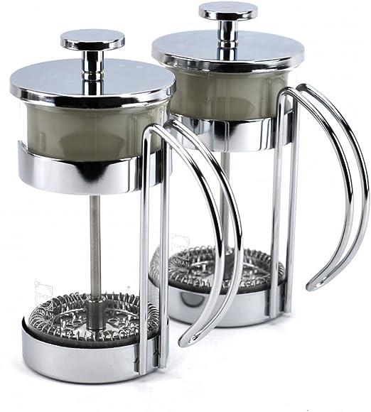 Prensa francesa cafetera, fría pequeña para café y té taza de ...