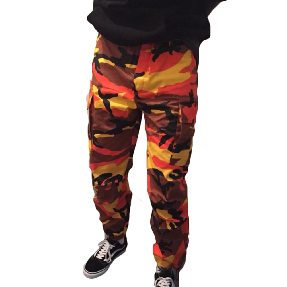 Italy Morn Uomo Creativo Chino Casual Pantaloni Cotone