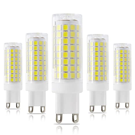 Amazon Com Bombilla Led G9 Regulable G9 Con Base De Dos Pines