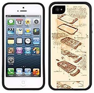 Steampunk Handmade iPhone 5 5S Black Case by icecream design