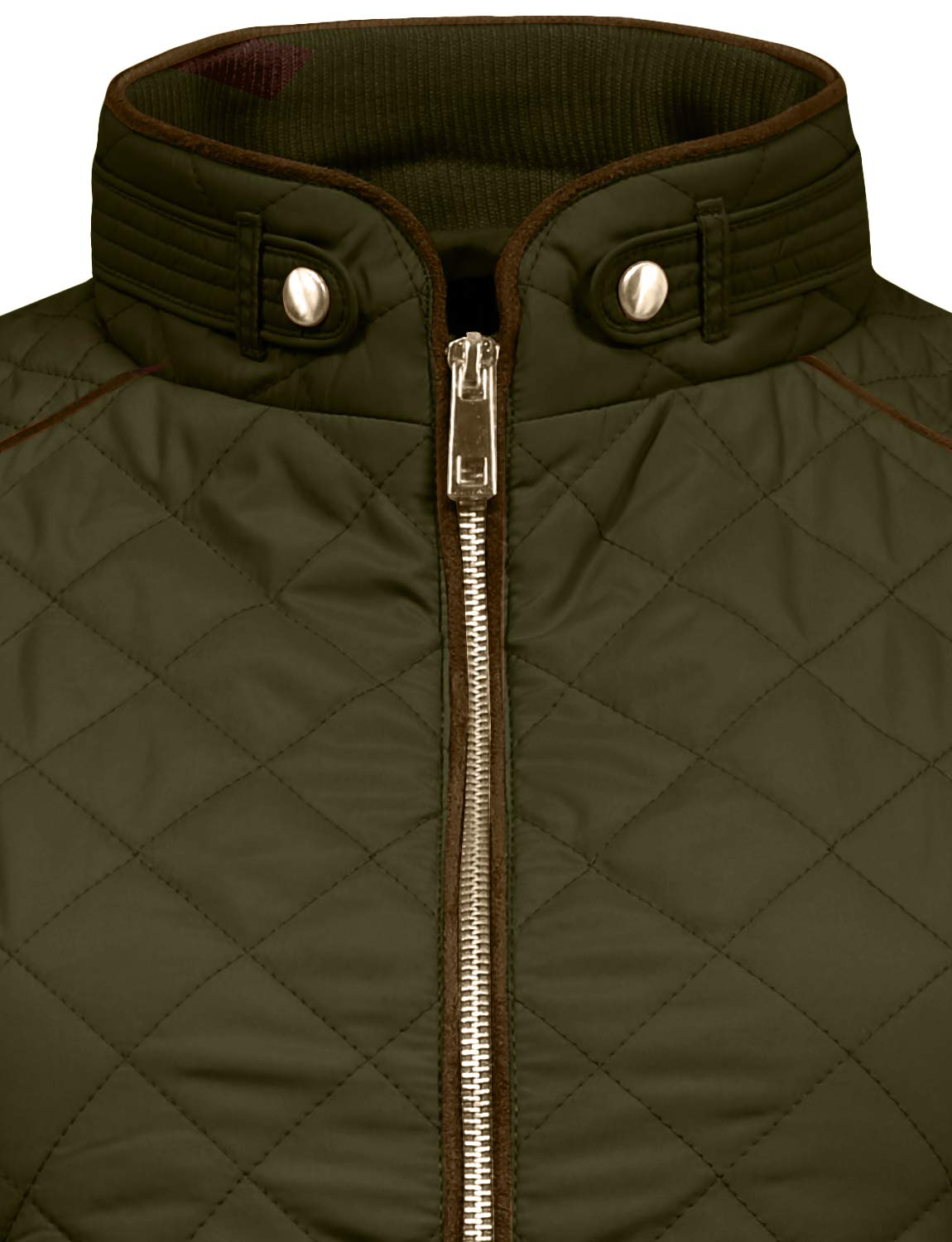 J. LOVNY Womens Lightweight Quilted Warm Zip Jacket/Vest with Pocket Details by J. LOVNY (Image #4)