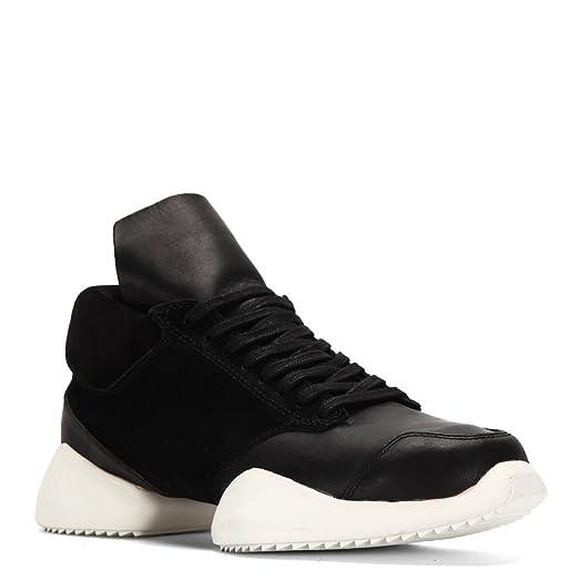 Adidas Par Rick Owens Adidas X Rick Owens Chaussures De Sport 'runner Tech' - Noir YY0nM2STC