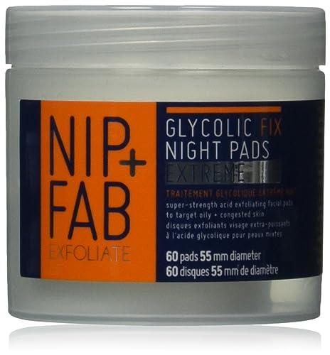 Nip+Fab Glycolic Fix Extreme Night Pads 80 ml