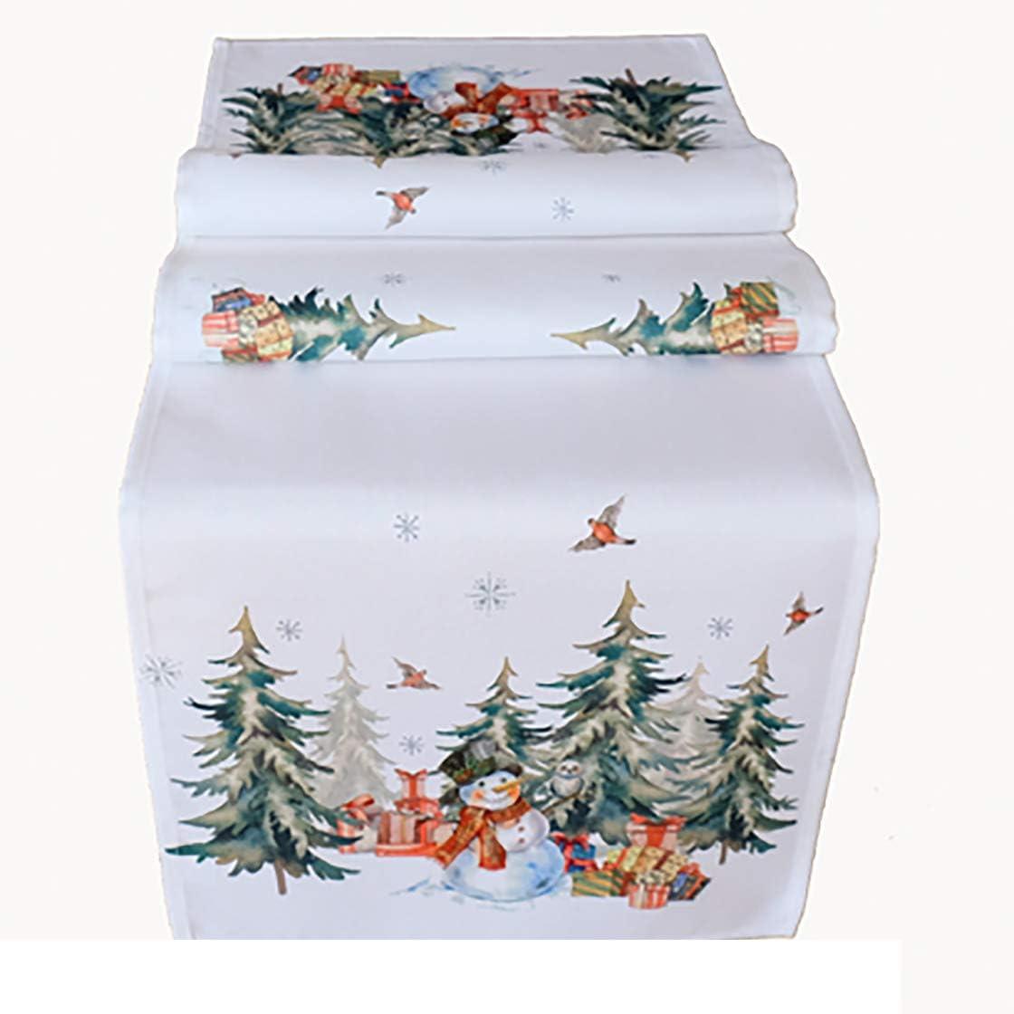 Attire tous les regards automne//hiver Kamaca S/érie Bonhomme de neige avec cadeaux Motif imprim/é de haute qualit/é