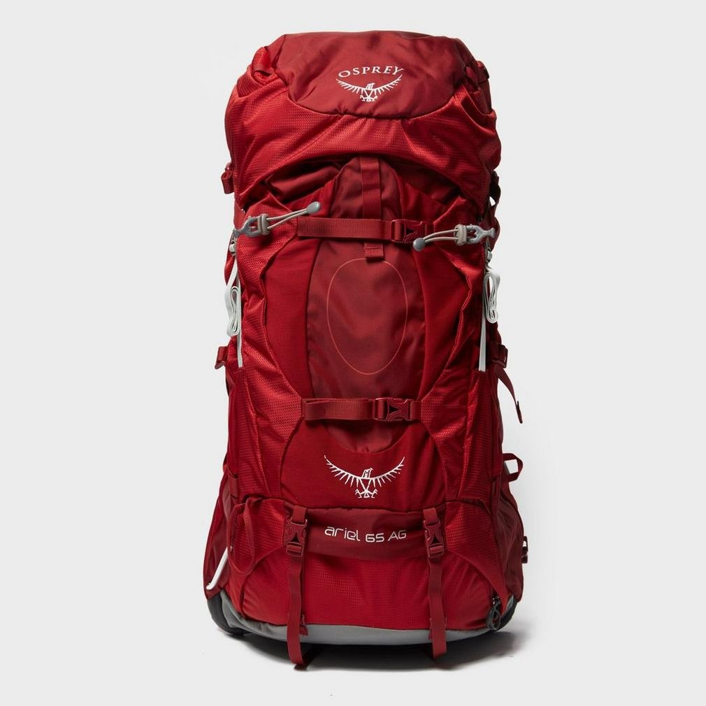 Red Osprey Ariel Ag 65L Mochila Equipaje Pack Bolsa de viaje Rojo, Rojo, Talla Única: Amazon.es: Deportes y aire libre