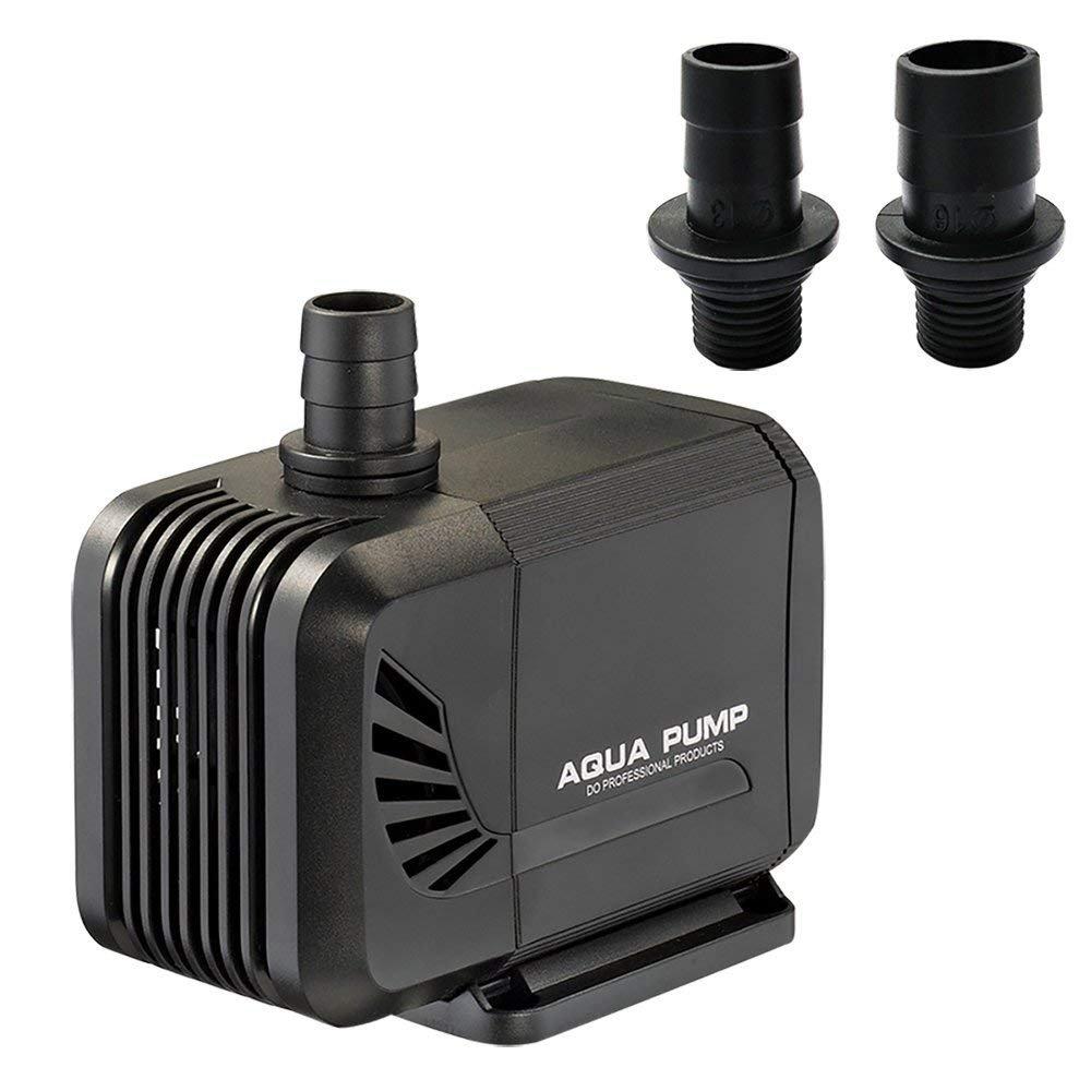 NONMON Pompa Acqua Sommergibile Ultra Silenzioso 15W 220~230V 400 GPH per Acquario Fontana Piscina