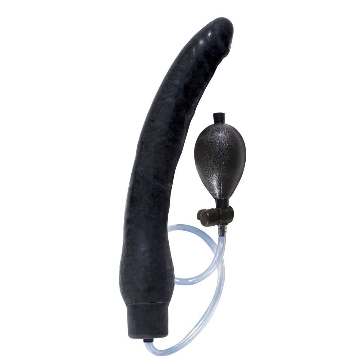 12'' Inflatable Expendable Dong Dildo Cock Anal Sex Balloon Pump Butt Plug by Unknown