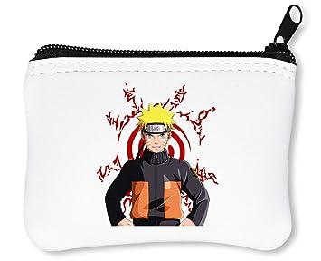 Naruto Portrait Billetera con Cremallera Monedero Caratera ...