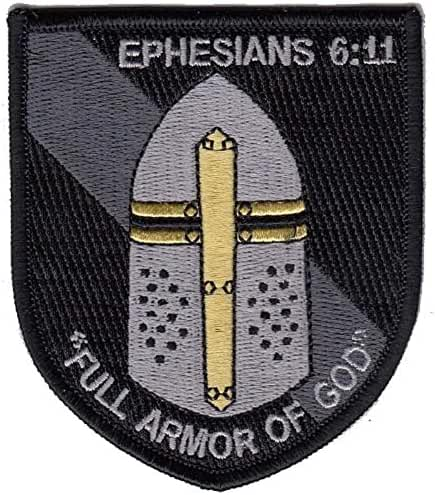 Ephesians 6:11 Full Armor of God Morale Patch
