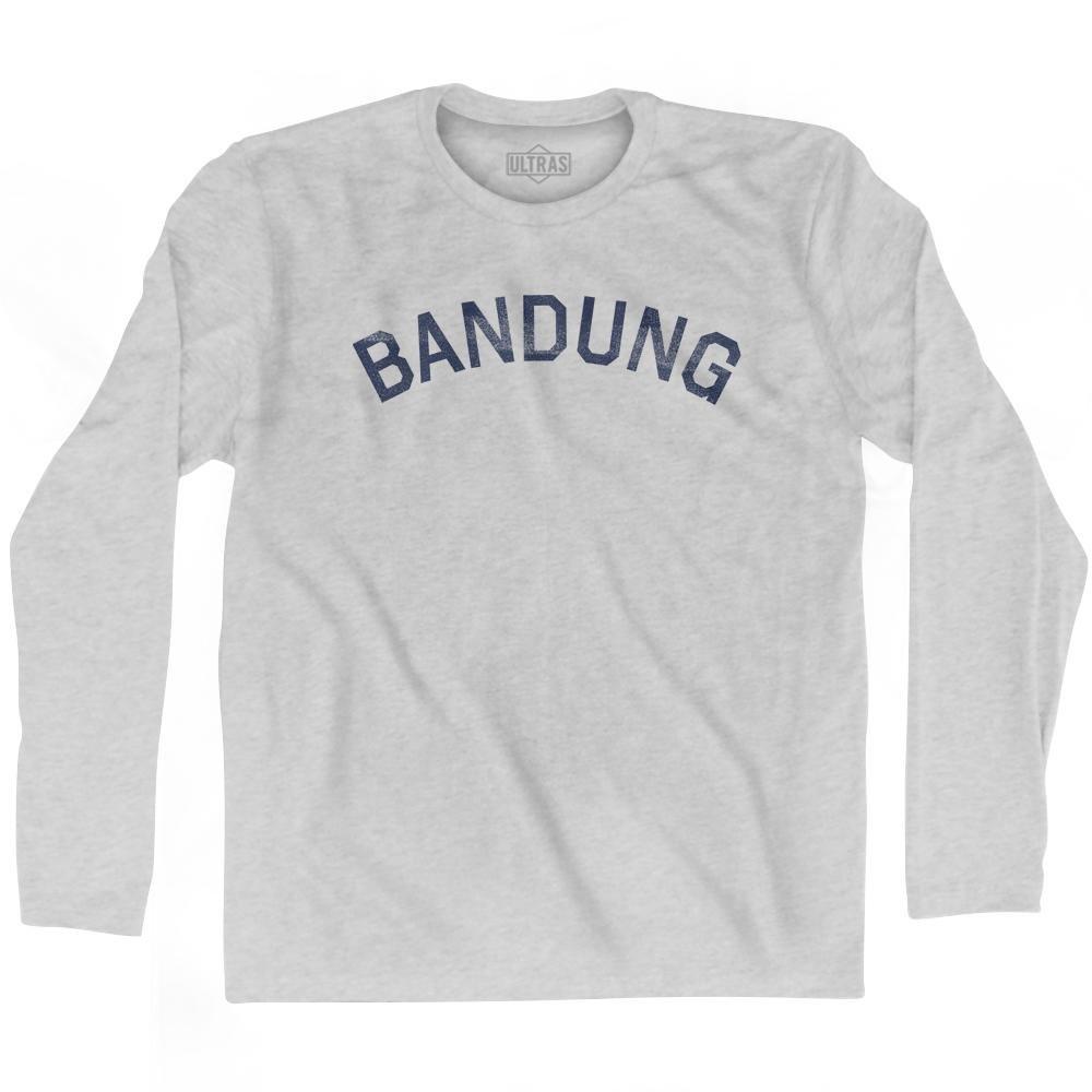 Bandung Vintage City Adult Cotton Long Sleeve T-shirt
