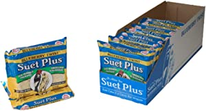 Suet Plus Suet Cakes 12 Pack of 11 oz Bird Suet Cakes (Blueberry Twist)