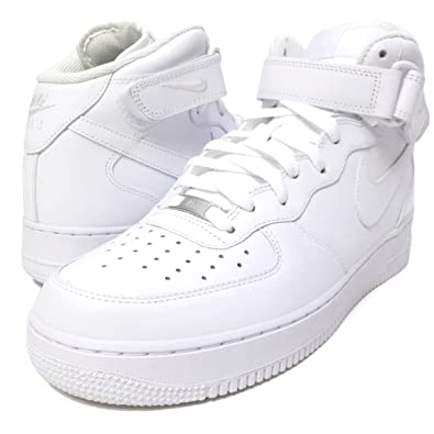 the best attitude 42314 e49ed Nike AIR FORCE 1 MID  07, BIANCO, ...