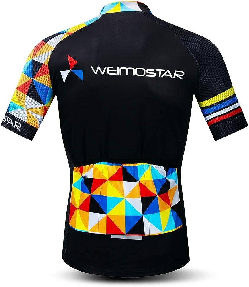 con tira antideslizante en el dobladillo shine future Conjunto de camiseta de ciclismo para hombre maillot de manga corta y culote corto de ciclismo para hombre