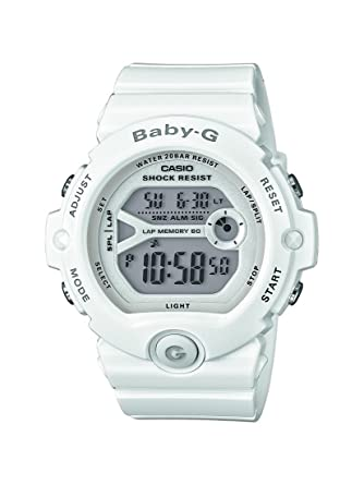 Amazon.com  Watch Casio Baby-g Bg-6903-7ber Women´s White  Casio ... 35f9bb7f25ff