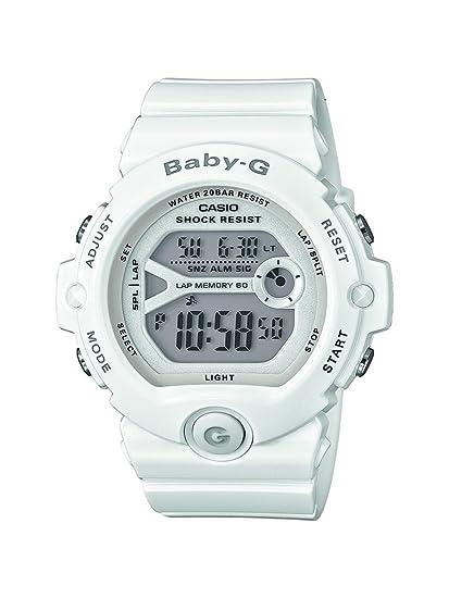 Casio Reloj Digital para Mujer de Cuarzo con Correa en Resina BG-6903-7BER: Amazon.es: Relojes