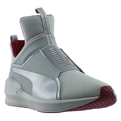Amazon.com   PUMA Womens Fierce Nubuck Naturals Athletic   Sneakers Grey    Shoes 311957c530