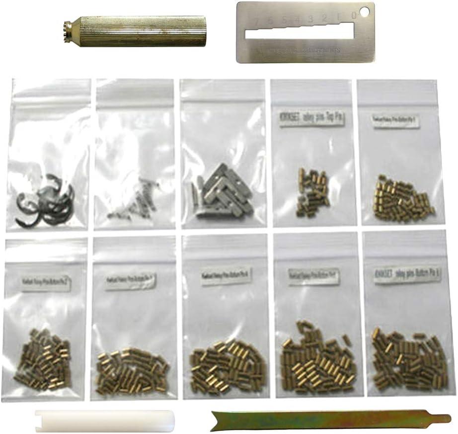 100 Pieces Master and American Padlock Springs Locksmith Pin Refill Rekeying Kit
