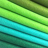 4pcs Thick 1.4mm Soft Felt Fabric Sheet Assorted
