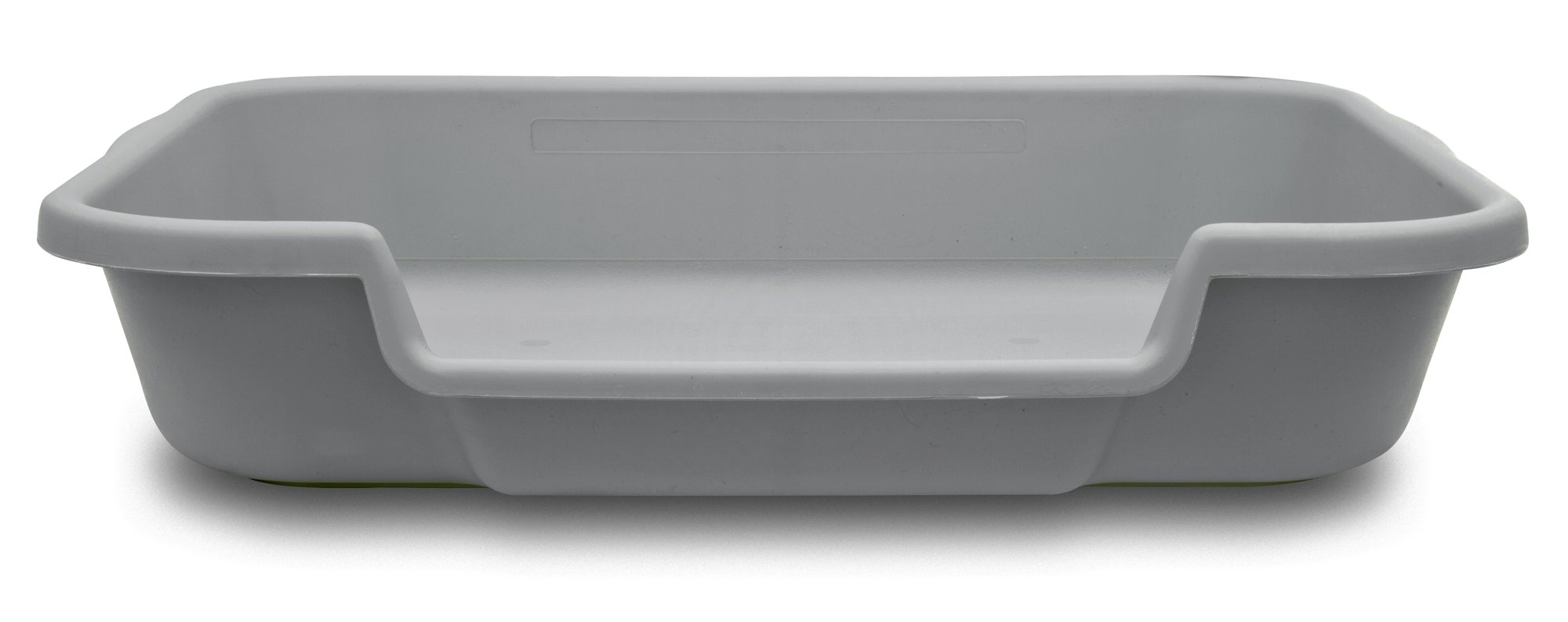 PuppyGoHere Dog Litter Box Recycled Gray Color: 24''x20''x5'' Recycled Gray Colored Pans May Vary in Color. Marks May BE Present. See More Information in Description USA Made by PuppyGoHere