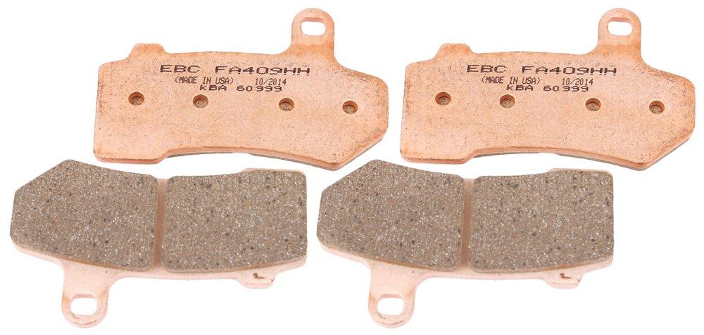 EBC Brakes EBPCK2025 Front Double-H Sintered Brake Pad Change Kit