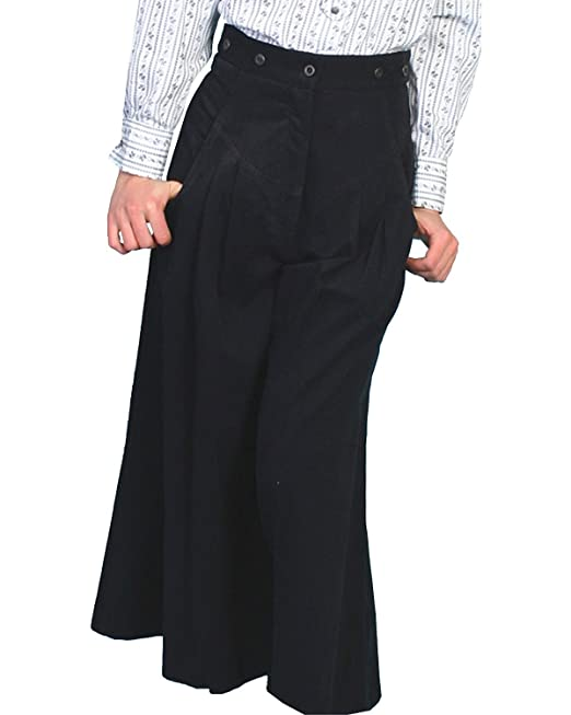 Vintage High Waisted Trousers, Sailor Pants, Jeans Riding Pants Scully Rangewear Womens Rangewear Brushed Twill Riding Pants $78.14 AT vintagedancer.com