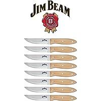 Jim Beam Stainless Steel 8-Piece Knife Set