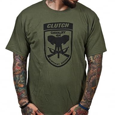 Clutch Embrague Hombre Elefante Riders Camiseta Verde: Amazon.es: Ropa y accesorios