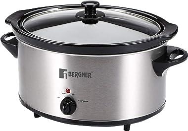 Bergner Elite Inox Stainless Steel Slow Cooker