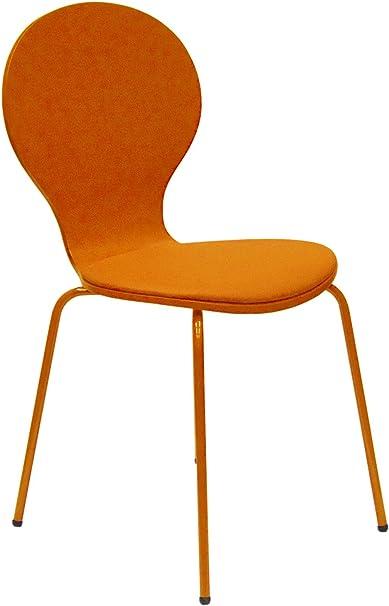 Tenzo, Sedia da salotto, Arancione (Orange): Amazon.it: Casa