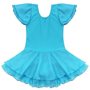 c4553f746 TiaoBug Girls Kids Gymnastics Dance Costume Ballet Tutu Dress ...
