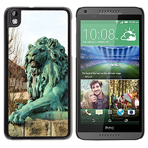 PC Hard Case Cover // M00113323 Monument Sculpture Animal Lion Paw // HTC Desire 816 (Sculpture Monument)
