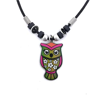 Amazon mood pendant necklace owlf jewelry mood pendant necklace owlf aloadofball Gallery