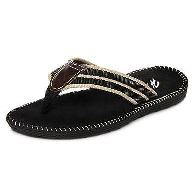 5e998b604 Mens Flip Flops Casual Indoor   Outdoor Flip-Flops Beach Slippers (UK 6.5