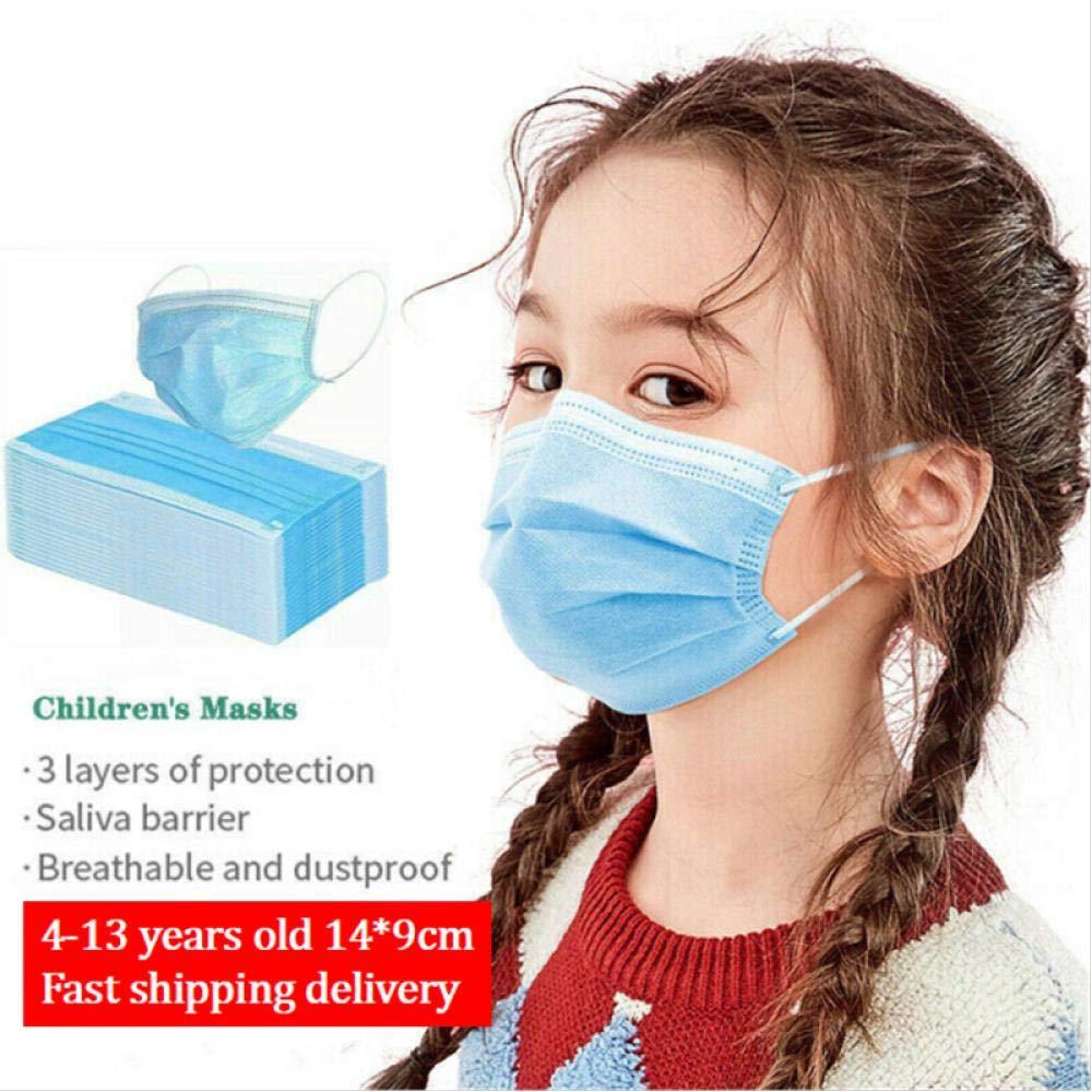 10/20 / 50Pcs Máscaras Para Niños Embalaje De Bolsa Sellada Estándar-Protección Sanitaria Máscaras Transpirables-20 Piezas